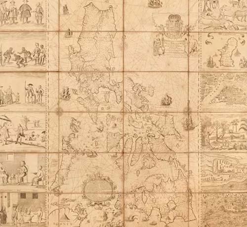 Bản đồ cổ Philippines phá kỷ lục đấu giá