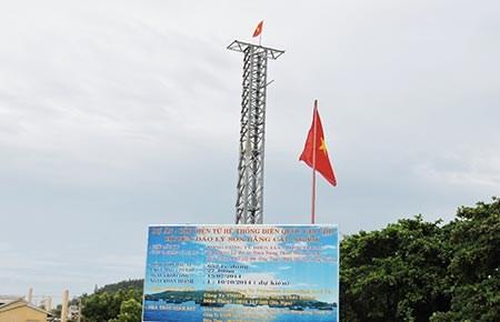 Triển khai hệ thống thông tin địa lý tại huyện đảo Lý Sơn