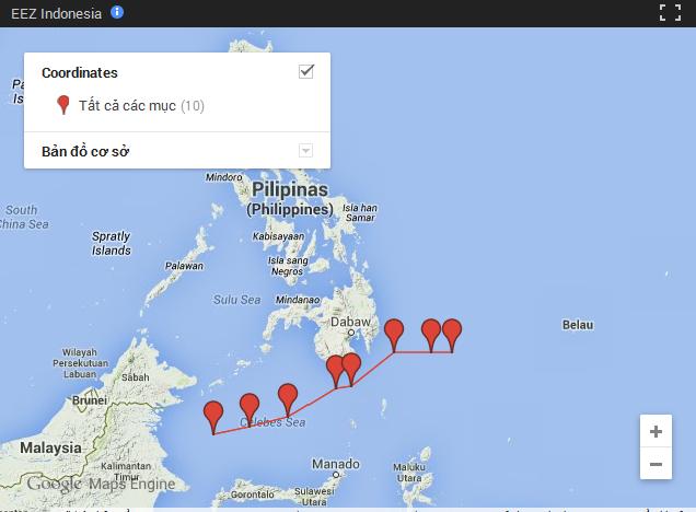 Philippin và Inđônêxia ký thoả thuận ranh giới trên biển