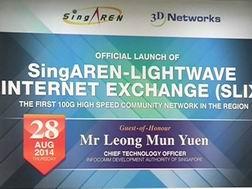 Singapore khai trương mạng Internet nhanh nhất Đông Nam Á