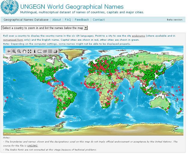 Tổ chức địa danh của Liên hợp quốc