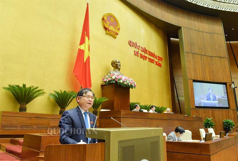 Quốc hội nghe báo cáo giải trình, tiếp thu, chỉnh lý dự án Luật Đo đạc và Bản đồ