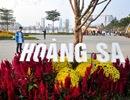 """Chiêm ngưỡng """"Bản đồ Việt Nam bằng hoa lớn nhất"""""""