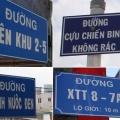 Thực trạng công tác địa danh của Việt Nam