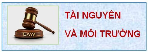 Văn bản quy phạm pháp luật TNMT